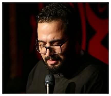 دانلود مداحی من اینجام و زیارتنامه میخونم حسین خلجی